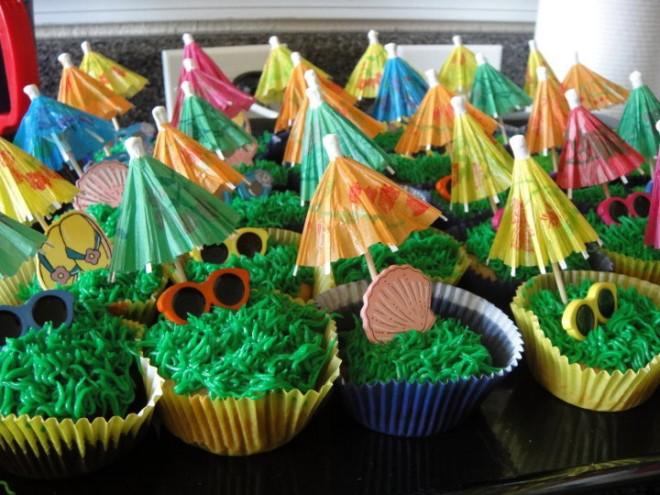 allergy free beach cupcakes