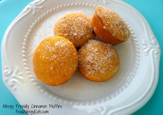 Cinnamon Muffins from FoodAllergyEats.com