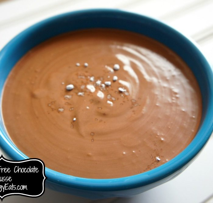 Dairy Free Chocolate Mousse #foodallergies #vegan