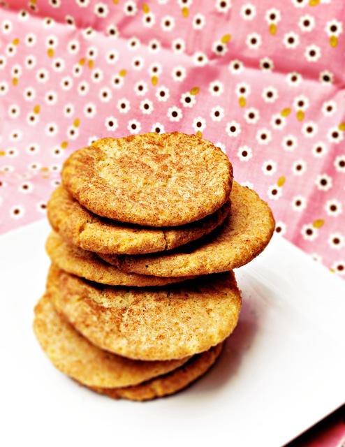Vegan and Snickerdoodle Cookies #vegan