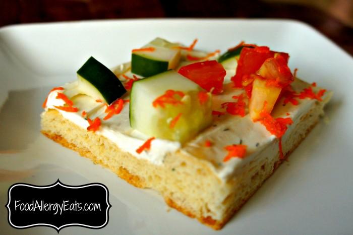 Veggie Croissant Bake