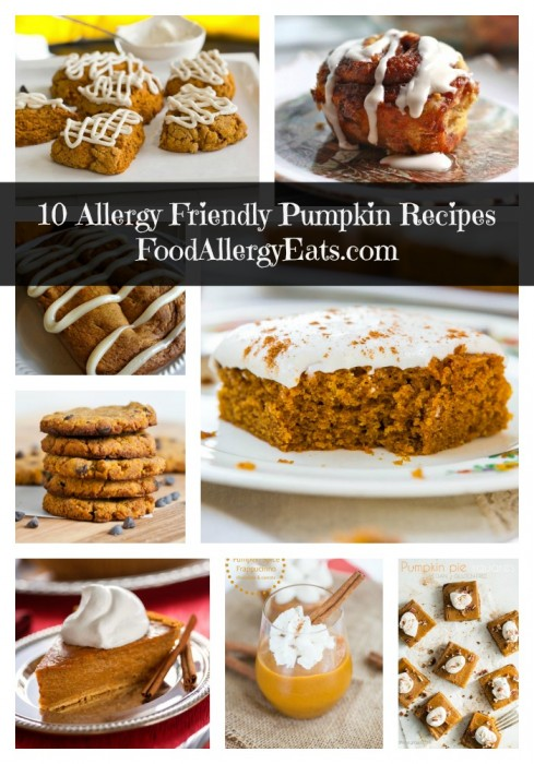 10 Allergy Friendly Pumpkin Recipes