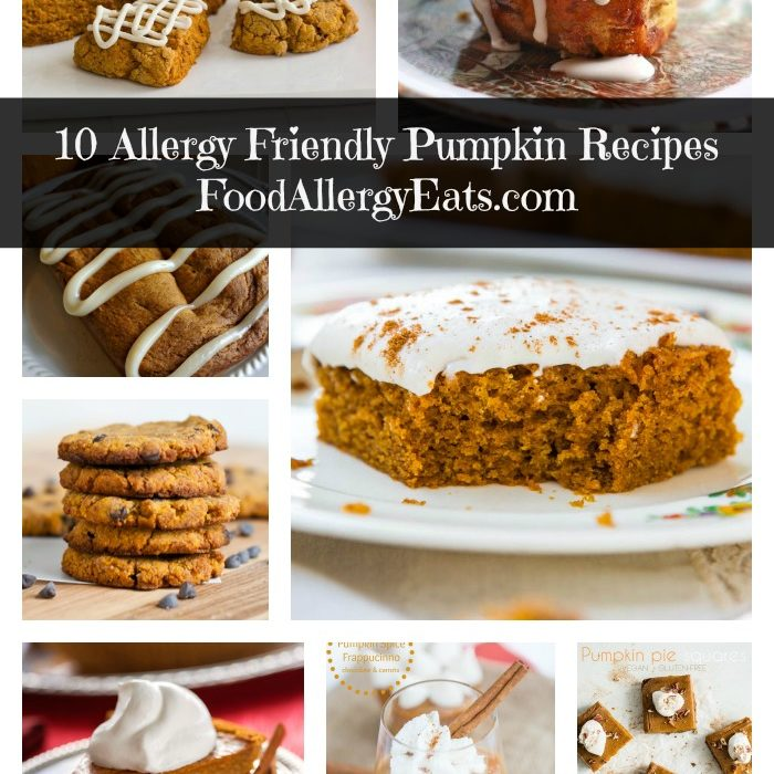 10 Allergy Friendly Pumpkin Recipes