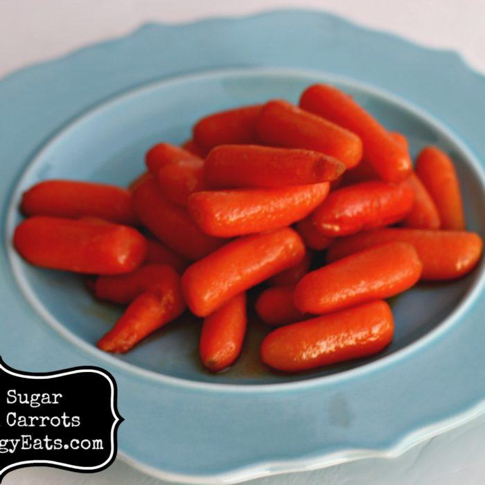 Brown Sugar Steamed Carrots