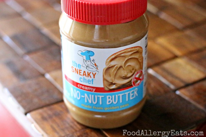 The Sneaky Chef No-Nut Butter Made from Peas! #foodallergies