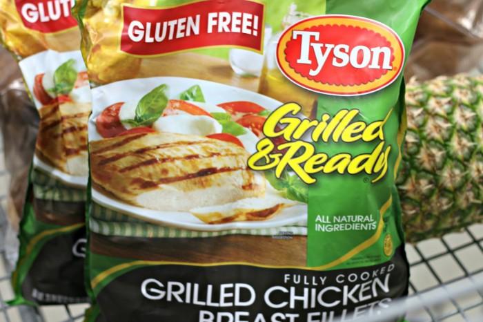 #ad Tyson Grilled & Ready Chicken #CookItGF #shop