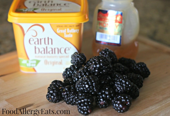 Dairy Free Blackberry Butter #vegan #glutenfree