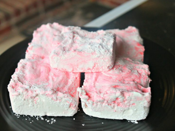 Allergy Friendly Homemade Peppermint Marshmallows
