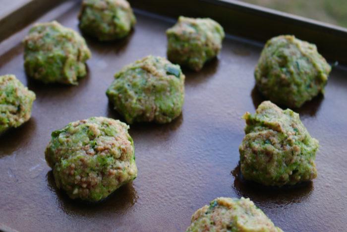 Easy Zucchini Meatballs