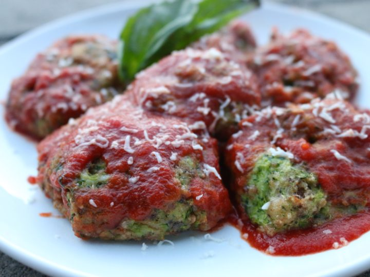 Allergy Friendly Zucchini Meatballs
