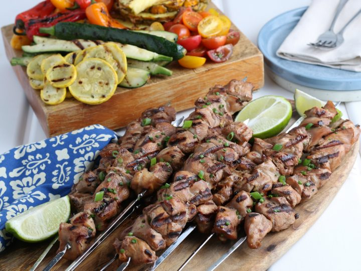 Allergy Friendly Grilled Chicken Kabobs