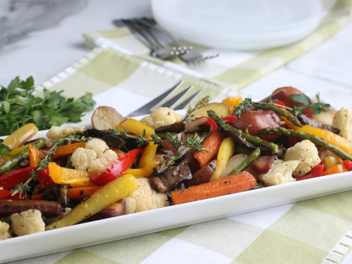 Allergy Friendly Oven Roasted Veggies